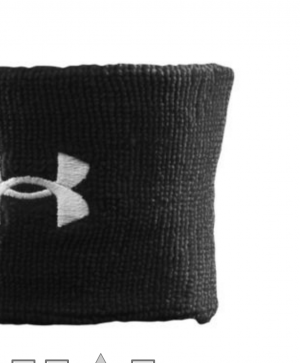 "Under Armour 3"" Performance Wristband - Men's"