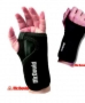 Wrist splint for carpal tunnel injury