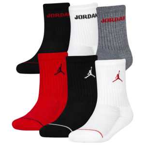 Детски чорапи Jordan Legend Crew Socks 6-Pack Boys' Grade School